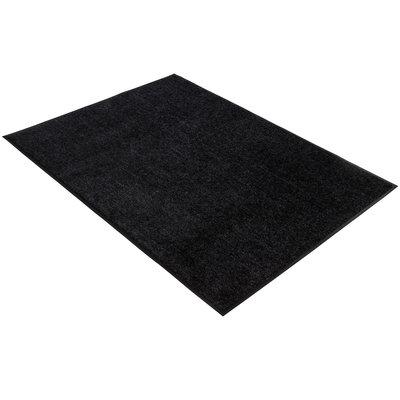 Droogloopmat zwart 90x120cm