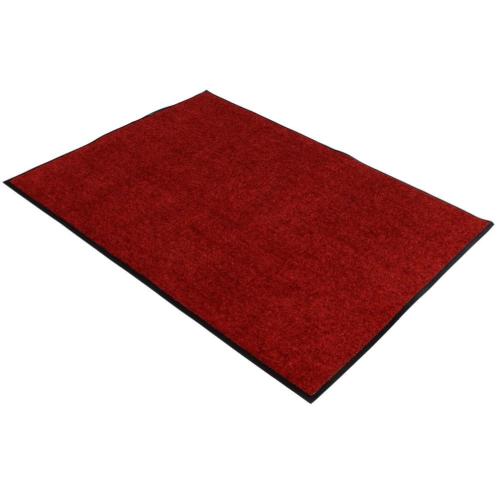 Droogloopmat rood 90x120cm