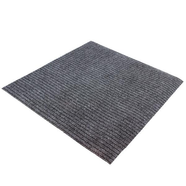 Schoonloopmat grijs 100x100