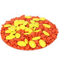 Snoep oranje geel
