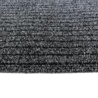 Schoonloopmat inloopmat grijs 100x100 detail kleine afbeelding