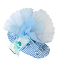 Bedankje blauw schoentje kleine afbeelding