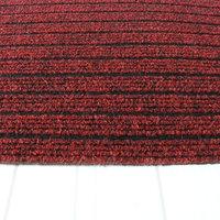 Schoonloopmat buitenmat rood kleine afbeelding