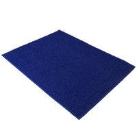 Deurmat spaghettimat blauw 120x90 kleine afbeelding