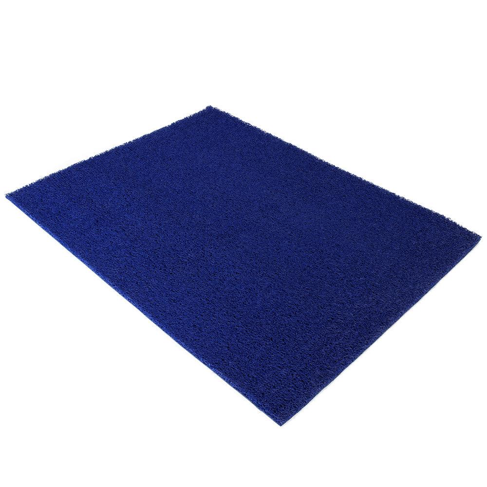 Deurmat spaghettimat blauw 120x90