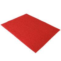 Deurmat spaghettimat rood helder 120x90 kleine afbeelding