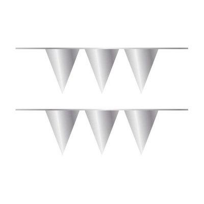 Vlaggenlijn zilver