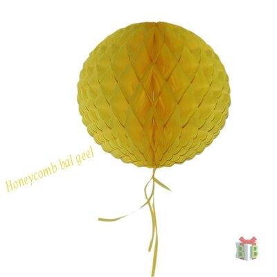 Gele Honeycomb bal