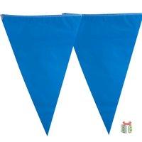 Blauwe vlaggenlijn kleine afbeelding