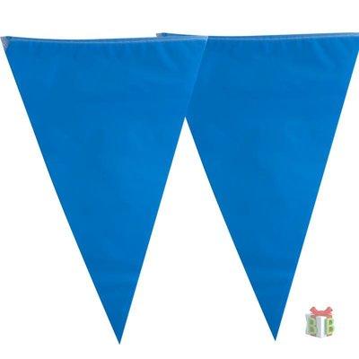 Blauwe vlaggenlijn