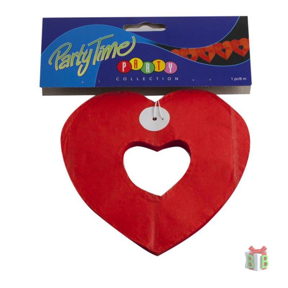 Guirlandes rood hart slinger