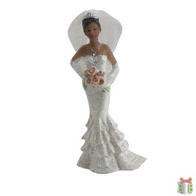 Taarttopper bruid getint
