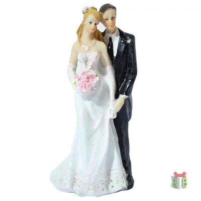 Taarttopper bruidstaart huwelijk