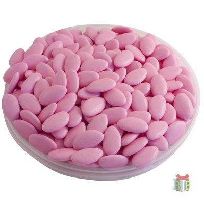 Doopsuikers roze chocolade dragees