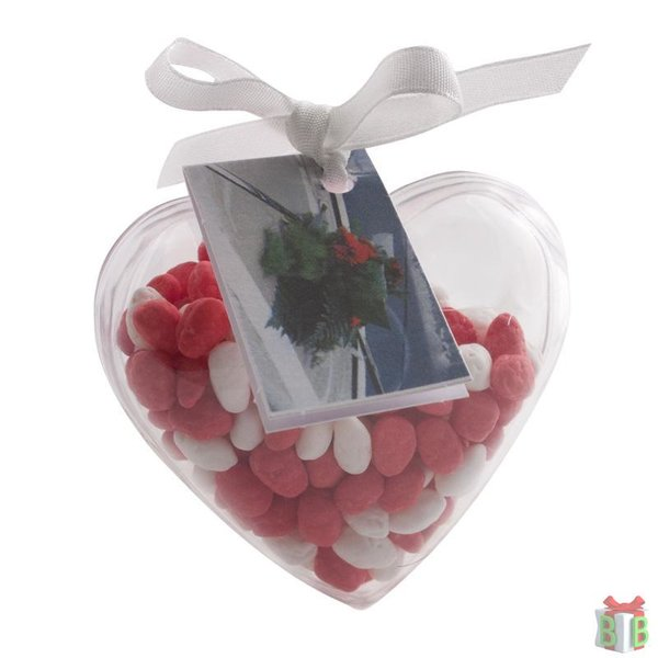 hart met manna rood/ wit