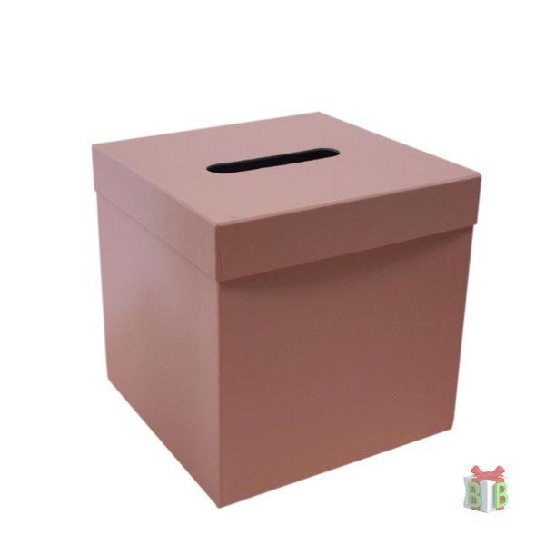 Roze enveloppendoos
