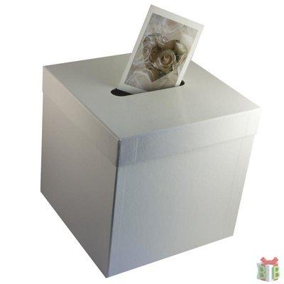 enveloppendoos wit effen vierkant