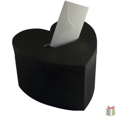enveloppendoos zwart hart