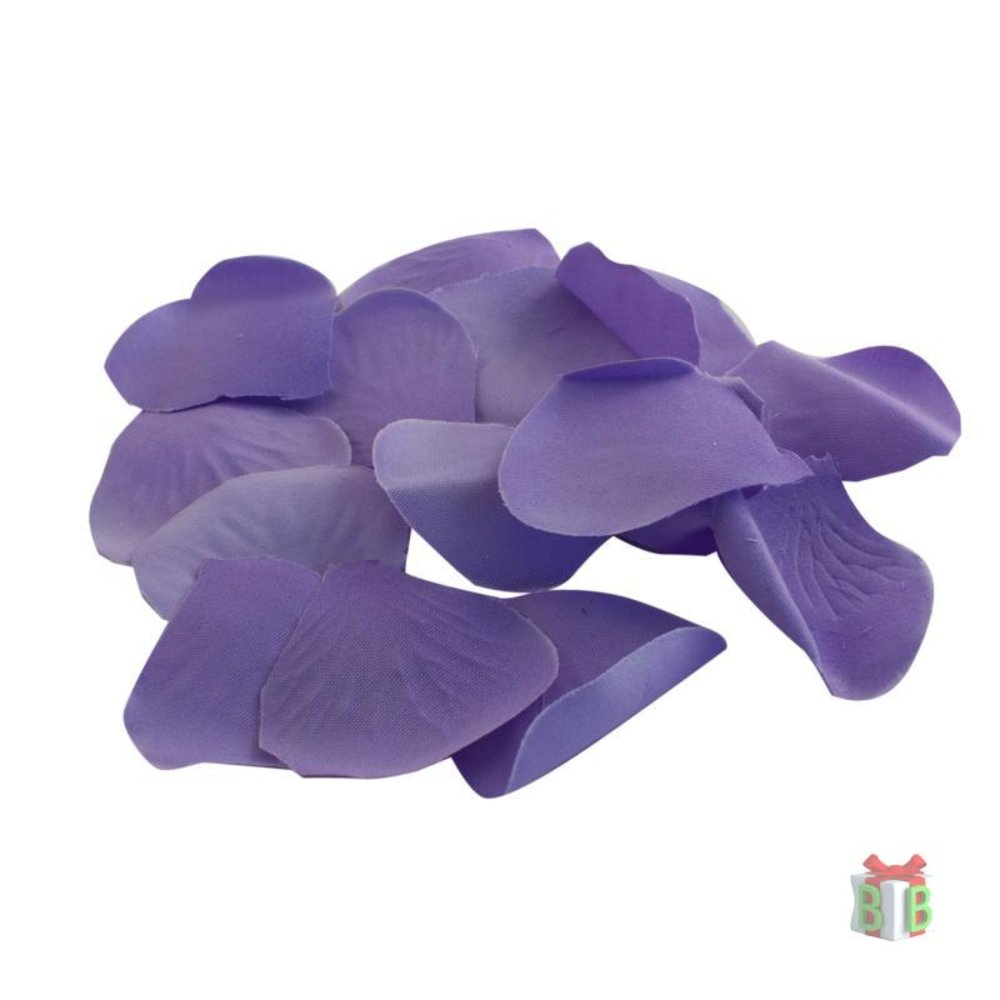 Rozenblaadjes paars
