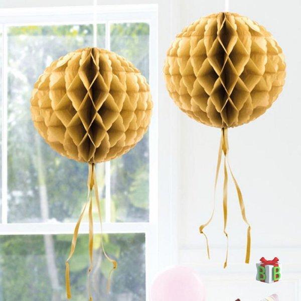 Gouden honeycomb