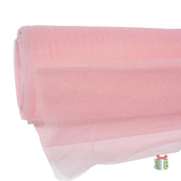 Roze tule per 1 meter