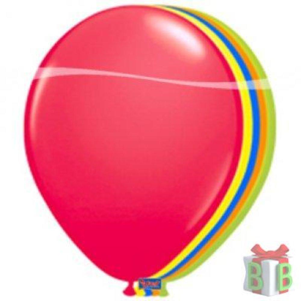 ballonnen gekleurd