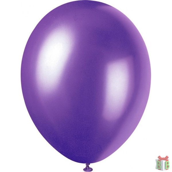 Ballon paars metallic