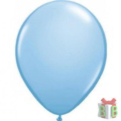 ballon metallic blauw