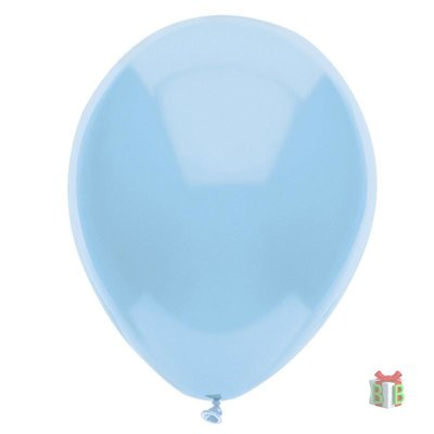 ballon licht blauw
