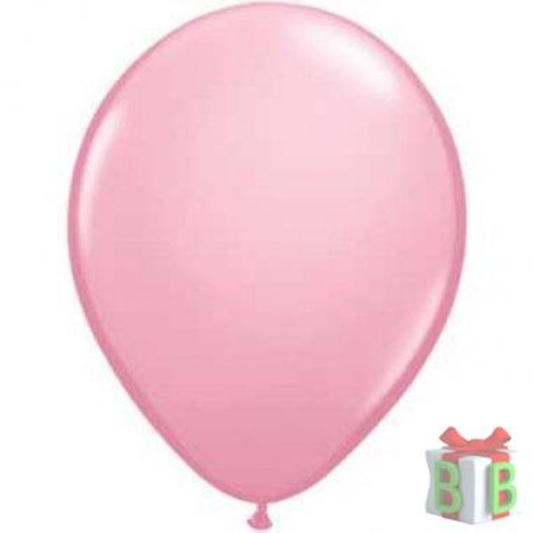 ballon roze metallic