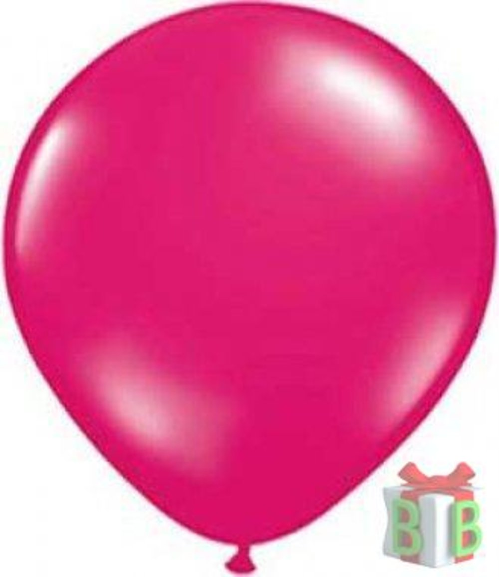 ballonnen fuchsia roze