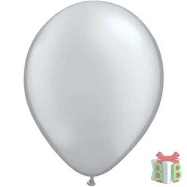ballon metallic zilver