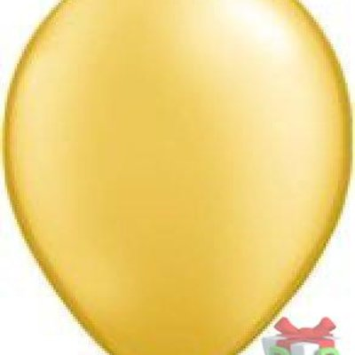 ballon metallic goud