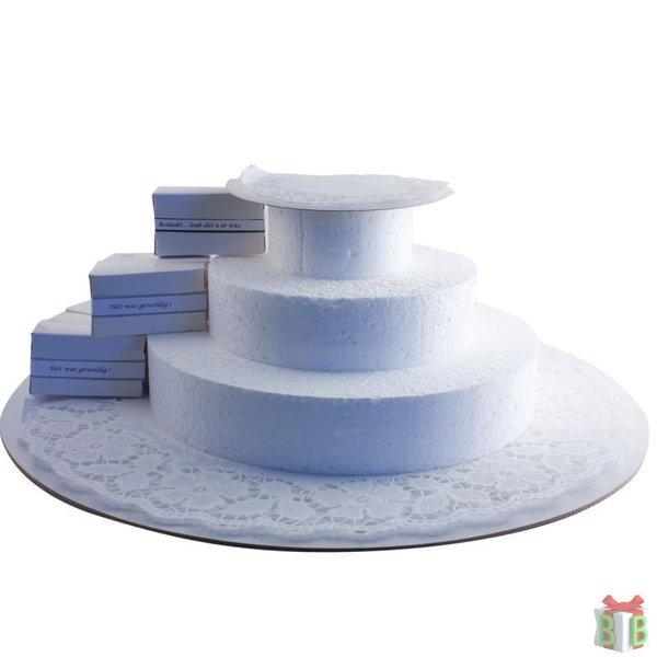 taartplateau 150 stuks