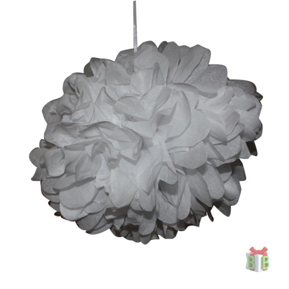 Witte Pompons