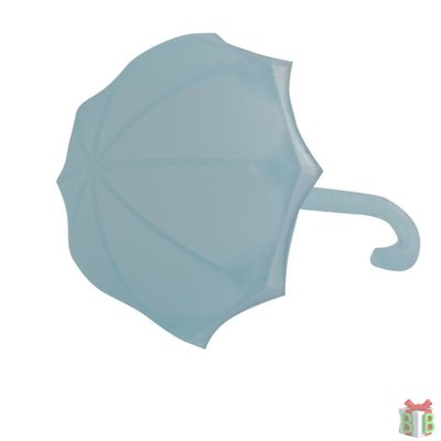 parasol blauw