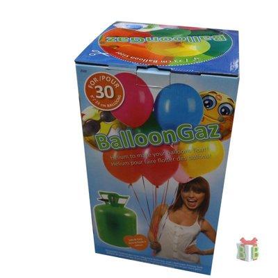Helium cilinders voor ballonnen