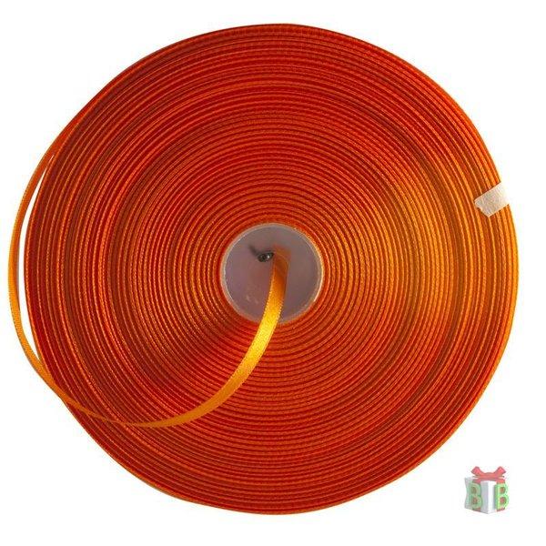 Satijn oranje lint
