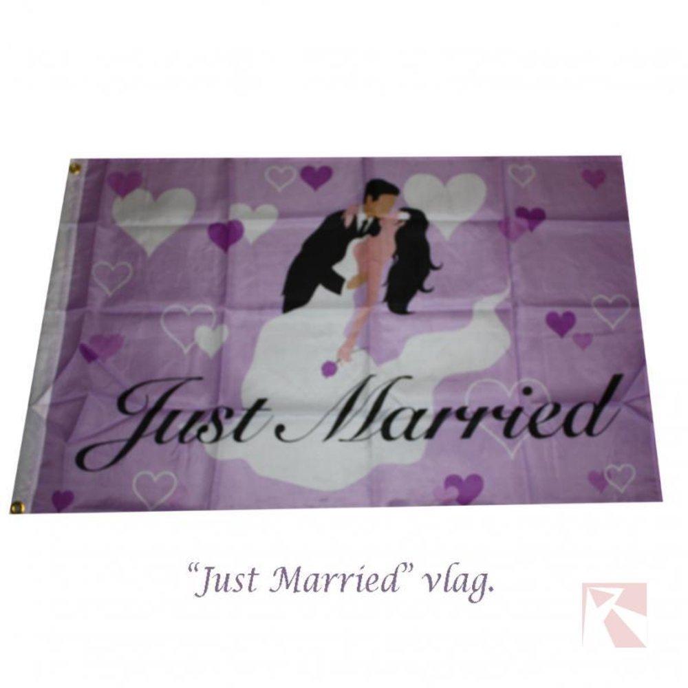 Gevel vlag getrouwd