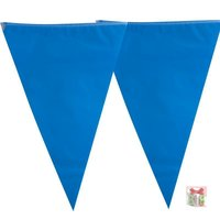 vlaggenlijn  blauw 10 m lengte kleine afbeelding