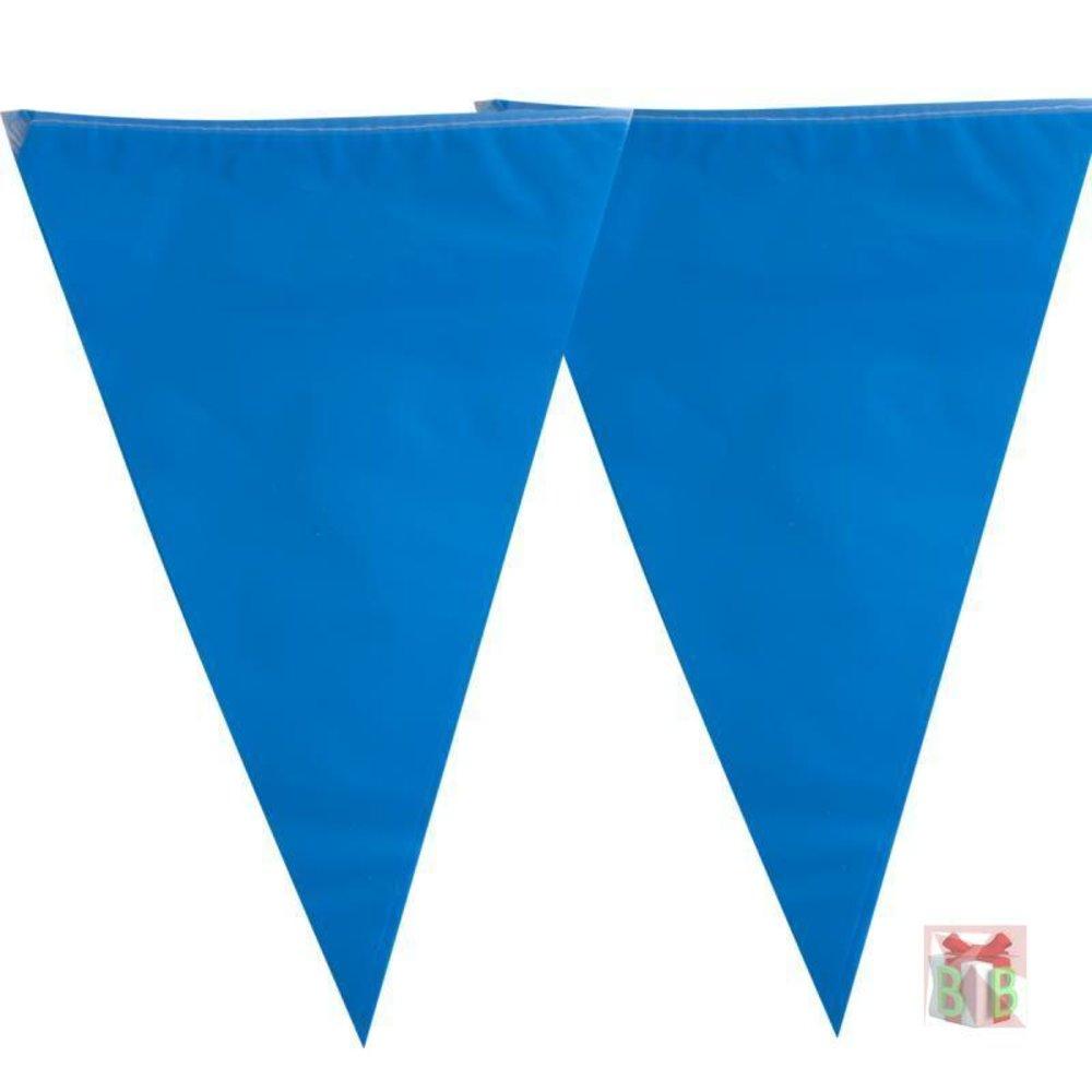 vlaggenlijn  blauw 10 m lengte