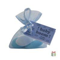 Organzazakje babyboom blauw