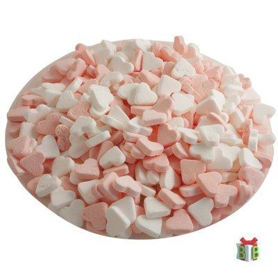 pepermunt roze wit