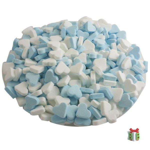 pepermunt hartjes blauw wite 1 kg