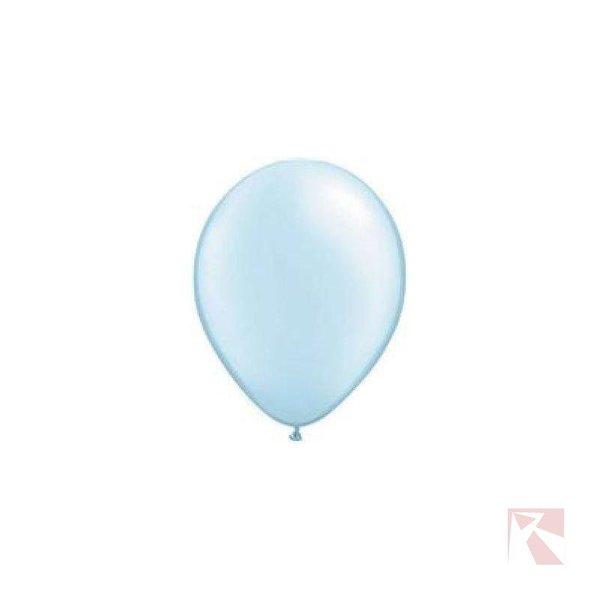 ballonnen licht blauwe ballon folatex