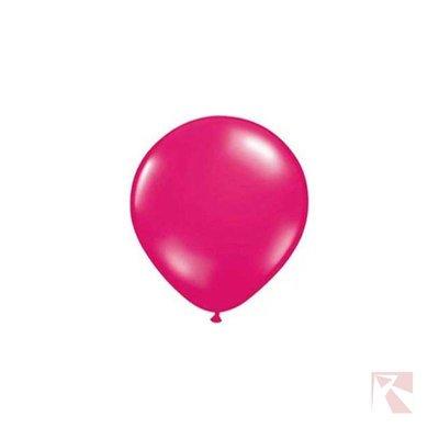 fuchsia roze ballon metallic