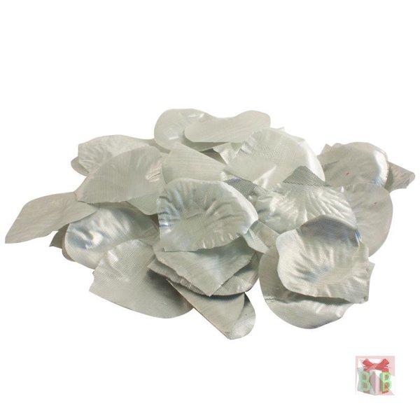 zilveren rozen blaadjes in zakje