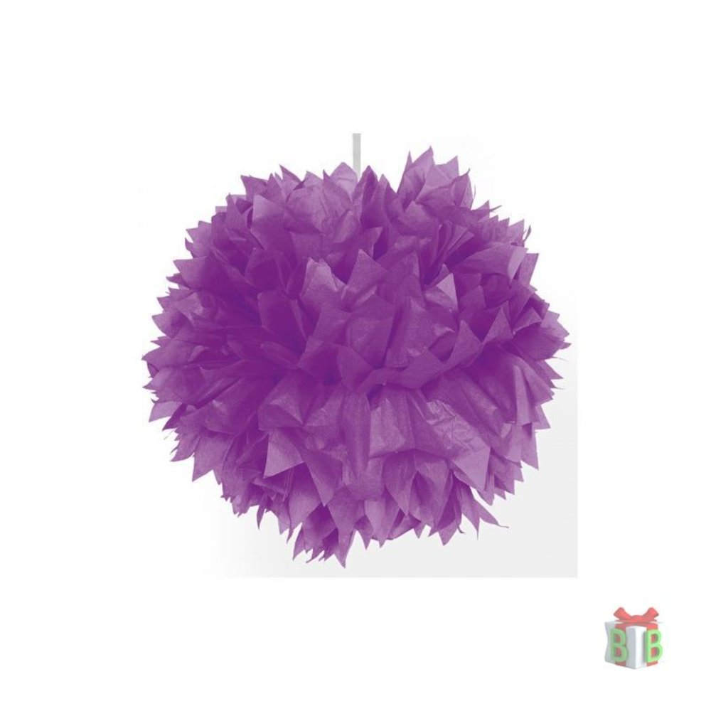 paarse set pompoms