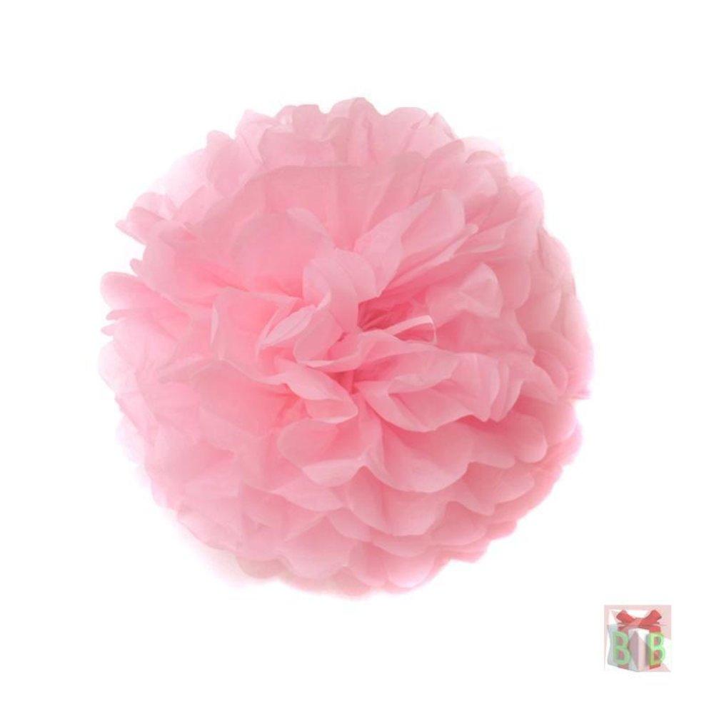 roze pompoms