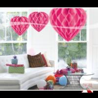 honeyhart roze bal kleine afbeelding